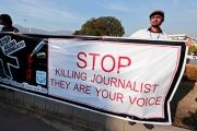At least 700 journalists have been killed worldwide in the past decade, the vast majority of which go unresolved.
