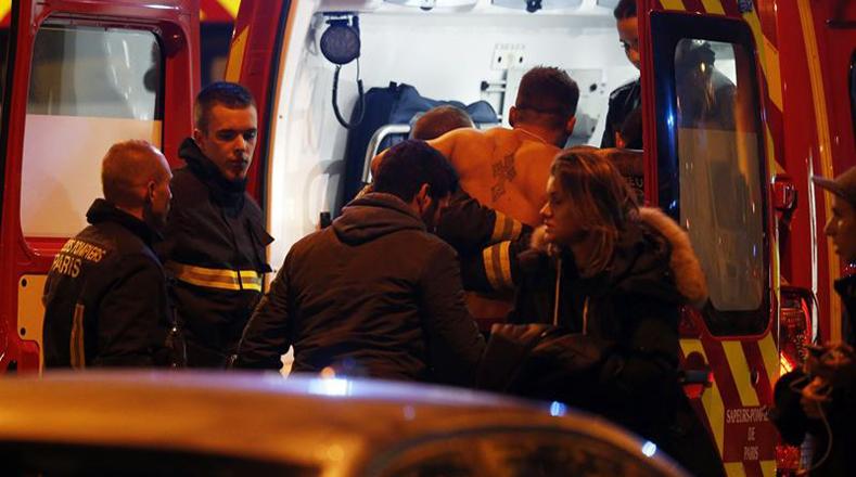 En las calles de París la policía ha hecho un gran despliegue de seguridad.