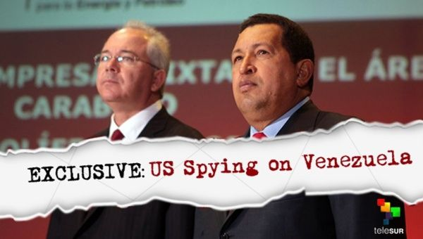 Leaked Snowden documents reveal the latest intervention into Venezuela by the United States.