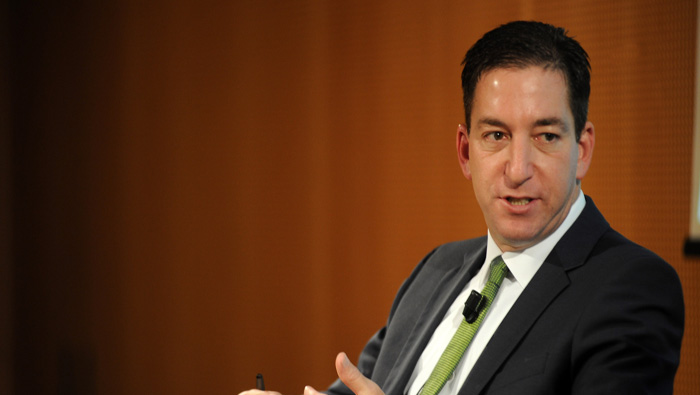 Glenn Greenwald, creador de The Intercept, medio especializado en las filtraciones del Edward Snowden.