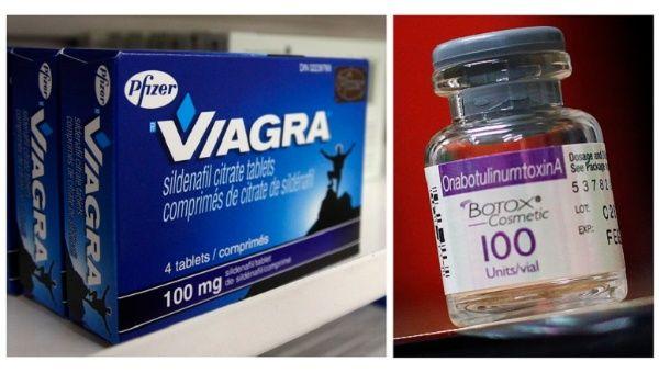 What drug company makes viagra