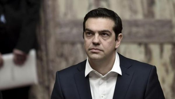 Greek Prime Minister Alexis Tsipras is one of the first European leaders to refer to Jerusalem as Israel