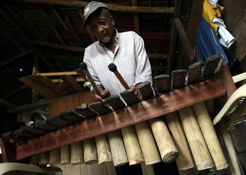 The popular rhythms of marimba have been named an Intangible Cultural Heritage of Humanity by UNESCO.