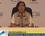 CNE head Tibisay Lucena has announced the MUD has secured a majority in the National Assembly.
