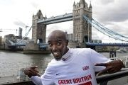 Multi-Olympic-gold medallist Mo Farah is certainly a problem, just not for the U.K., which considers him a national treasure.