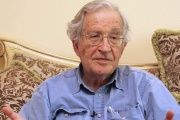Internationally renowned political analyst and writer Noam Chomsky says the U.S. is responsible for Islamic State group terror acts.