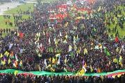 Thousands of Kurds in Germany protest the terror designation of the PKK which has criminalized their communities.