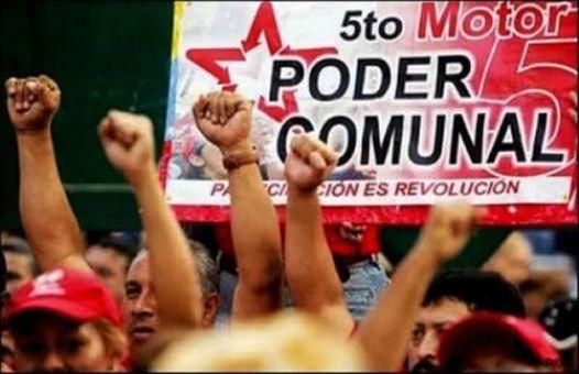 El Poder Comunal está basado en la Constitución de Venezuela.
