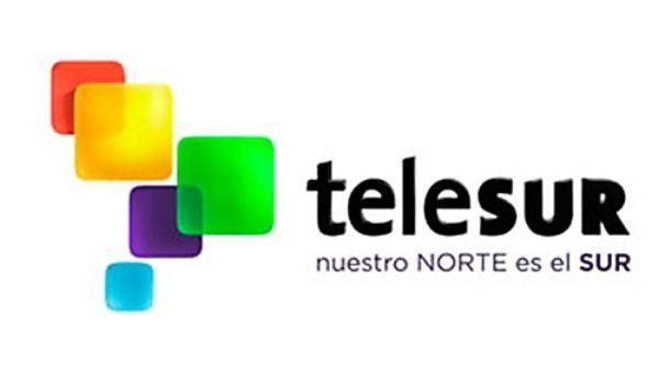 Resultado de imagen para telesur logo