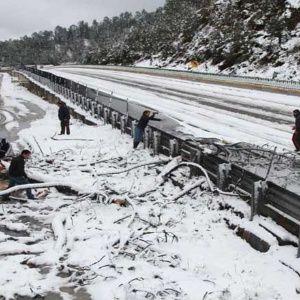 Bajas temperaturas cubren de nieve el norte de México | Noticias | teleSUR