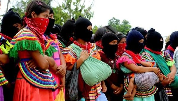 An important element of the Zapatista movement is women's leadership and the commitment to women's rights and equality.