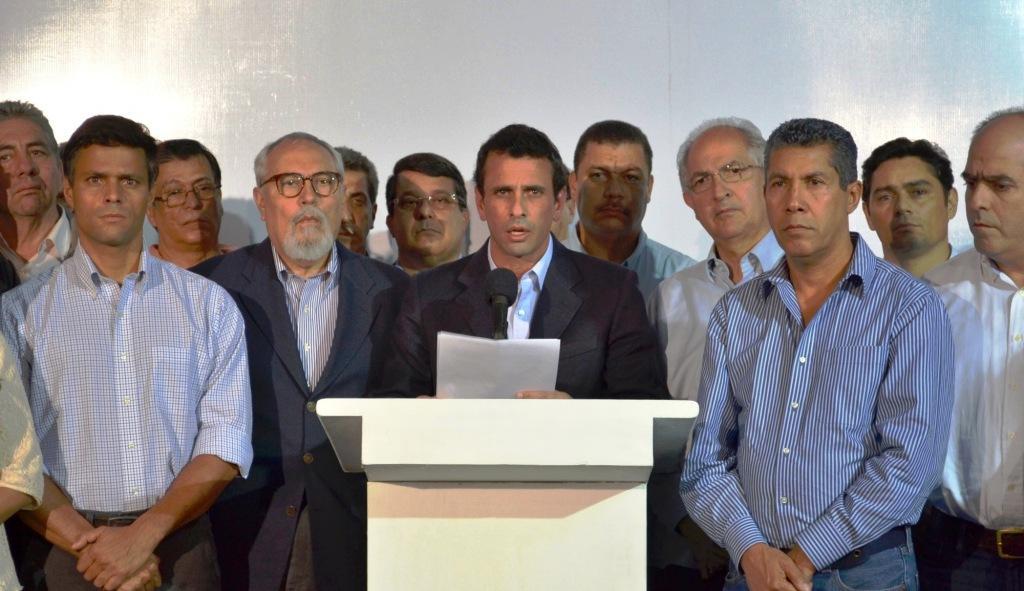 Oposición venezolana deja ver sus diferencias para gobernar | Noticias |  teleSUR