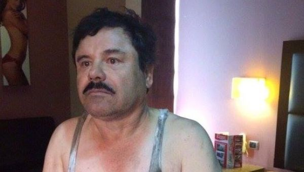 "Another purported picture of Joaquin ""El Chapo"" Guzman after his arrest Jan. 8, 2016."