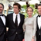 "The predominantly North American, white cast of ""Sicario"" at Cannes, May 2015."