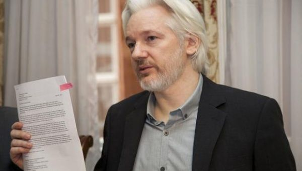 Julian Assange has been forced to stay in the Ecuadorean embassy in London since June 19, 2012