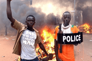 Burkina Faso has seen acts of violence from protesters outraged with corruption, as well as terrorists acts by extremists.