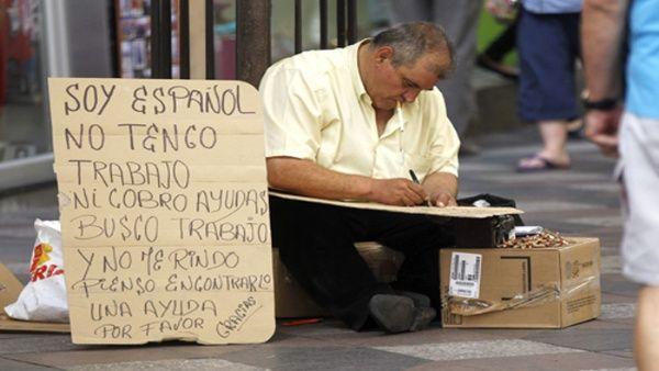 Resultado de imagen de desempleo, pobreza en españa