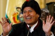 Evo Morales is campaigning for a