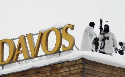 Davos guards protecting the ruling class