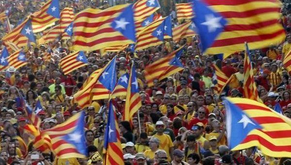 Resultado de imagen de catalonia with flags