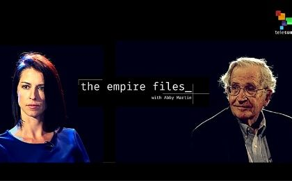 Abby Martin and Noam Chomsky discussed the U.S. elections.
