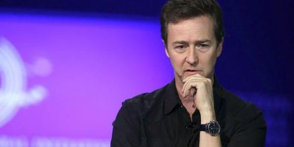 Actor Edward Norton arrived in Bolivia on Thursday to participate in the country