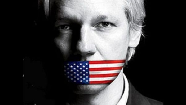 assange will not be muzzled