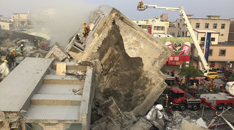 Terremoto de más de siete grados Richter sacude Taiwán (+ Fotos)