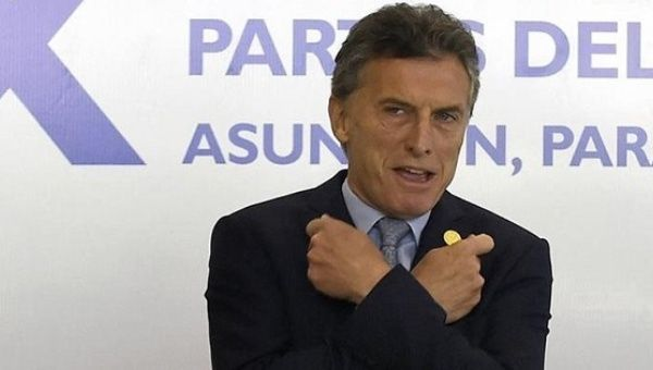 Macri has offered pensioners and social programs just a 15 percent pay rise, and teachers a 22 percent rise.