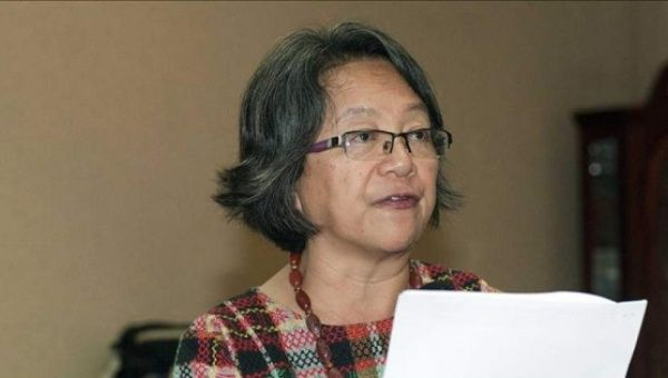 U.N. Special Rapporteur for Indigenous Rights Victoria Tauli-Corpuz