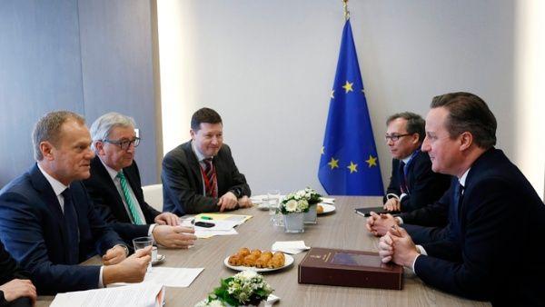 Consejo europeo garantiza permanencia de reino unido en la for Presidente del consejo europeo
