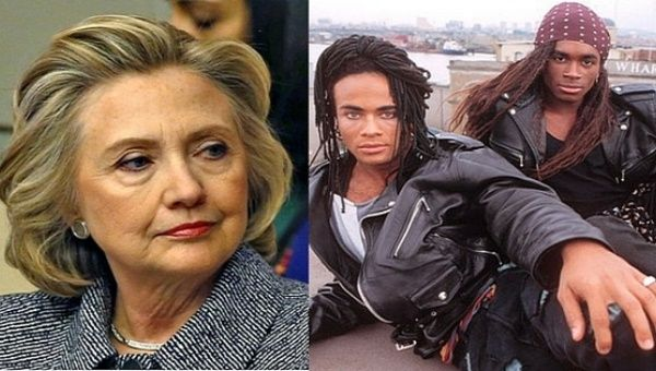 Is Hillary Clinton the Milli Vanilli of U.S. politics?