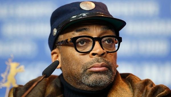 """When Bernie gets into the White House, he will do the right thing!"" says film director Spike Lee."