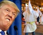 Trump's supporters wearing white robes and hoods reminiscent of the Klu Klux Klan were photographed in Las Vegas Tuesday night at the Nevada caucuses.