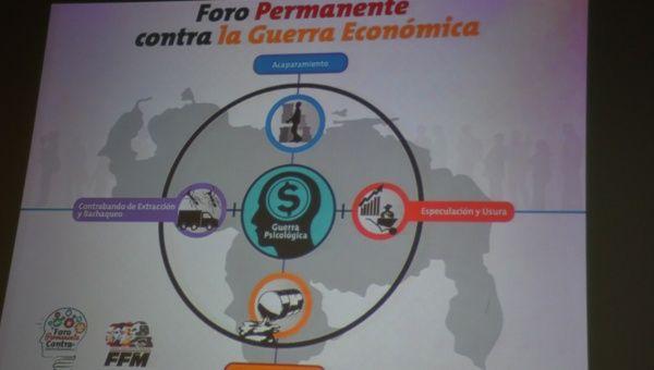 Medios de Venezuela debaten sobre el Estado de Guerra Permanente