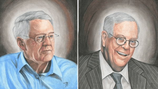 Inmates for bernie imprisoned artists raise funds for for David und charles koch
