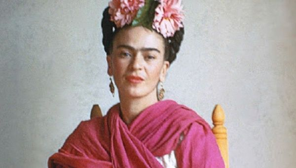 watch rare frida kahlo video on her love for diego rivera news telesur english. Black Bedroom Furniture Sets. Home Design Ideas