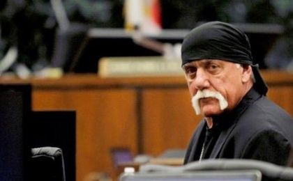 Terry Bollea, aka Hulk Hogan, sits in court during his trial against Gawker Media, in St Petersburg, Florida March 17, 2016.