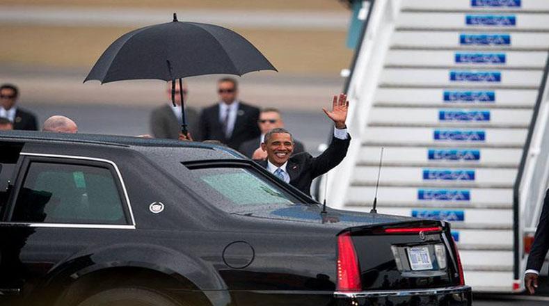 El mandatario inici&oacute; su recorrido por Cuba en medio de una caravana oficial hacia la embajada de su pa&iacute;s en La Haba</pre>... <a href=