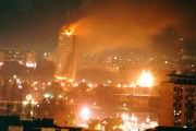 The day U.S. and their NATO allies turned night into day by bombing Yugoslavia.