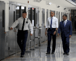U.S. President Barack Obama visits the El Reno Federal Correctional Institution outside Oklahoma City July 16, 2015.