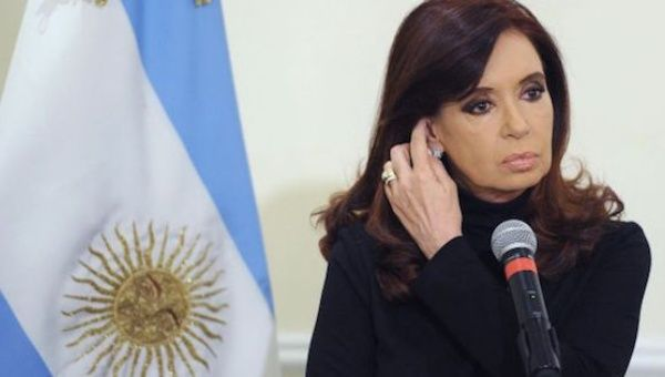 Former Argentine President Cristina Fernandez charged with money laundering.