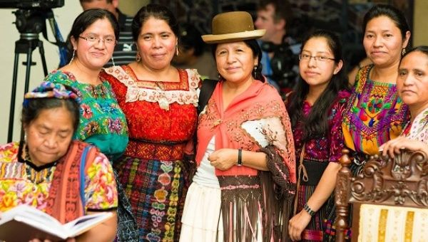 At its second day in Guatemala the Permanent Forum met with hundreds of indigenous representatives from the country, who shared their experiences, challenges and sucesses with the members of the Permanent Forum.