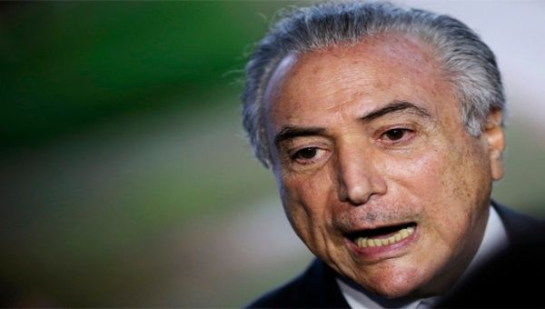 Michel Temer es señalado por conspirar contra la presidenta Dilma Rousseff.