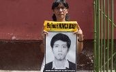 Sister of student murdered by the Fujimori's Government