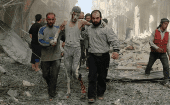More than 270,000 people have been killed since the start of the Syrian conflict in 2011.