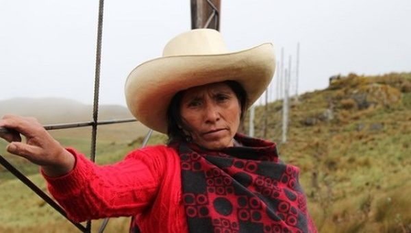 A subsistence farmer in Peru's northern highlands, Maxima Acuña de Chaupe stood up for her right to peacefully live off her own land.