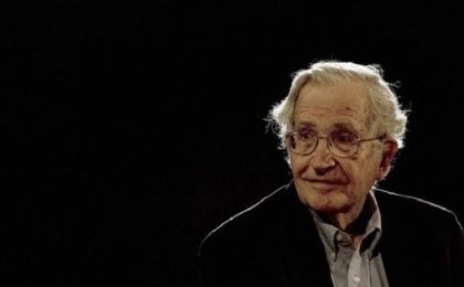 Internationally renowned professor Noam Chomsky