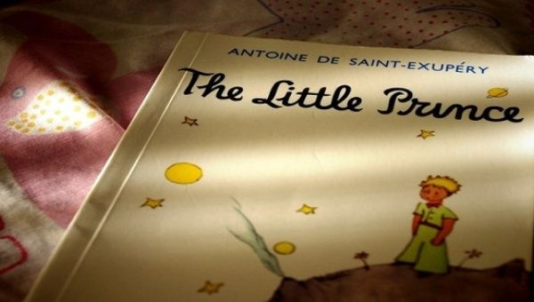 English edition of the classic novel by Antoine de Saint-Exupéry, The Little Prince.