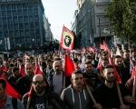 Greek trade unions opposed to tax and pension reforms are set to keep up the pressure with a third day of a general strike that has paralysed public transport across the country.